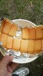 グリム冒険の森で燻製料理:QBBチーズ
