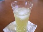 梅酒の緑茶割り
